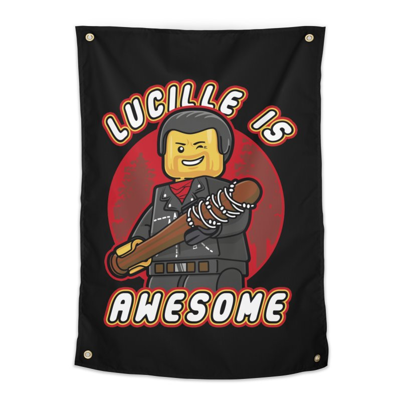 Lucille is Awesome Home Tapestry by Olipop Art & Design Shop