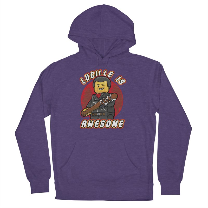 Lucille is Awesome Women's French Terry Pullover Hoody by Olipop Art & Design Shop