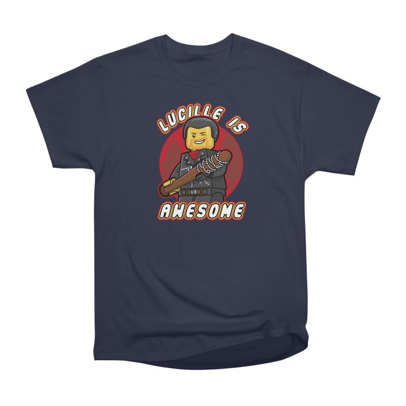 Lucille is Awesome Women's Heavyweight Unisex T-Shirt by Olipop Art & Design Shop