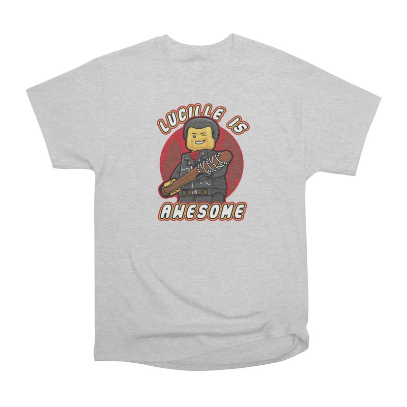 Lucille is Awesome Men's Heavyweight T-Shirt by Olipop Art & Design Shop