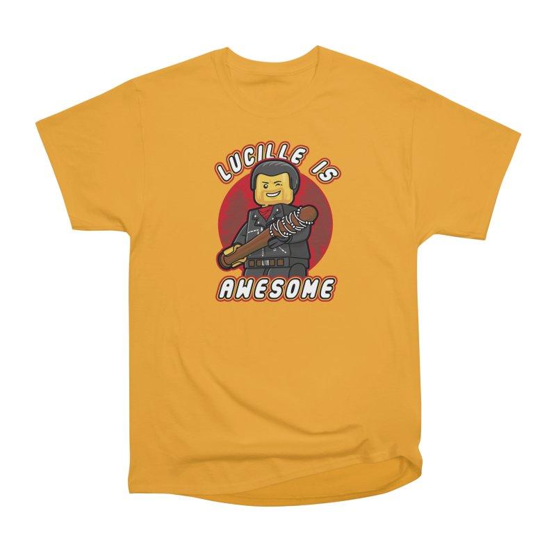 Lucille is Awesome Men's Heavyweight T-Shirt by Olipop Art & Design Shop