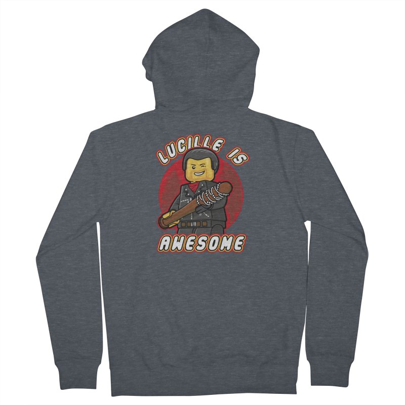 Lucille is Awesome Women's Zip-Up Hoody by Olipop Art & Design Shop