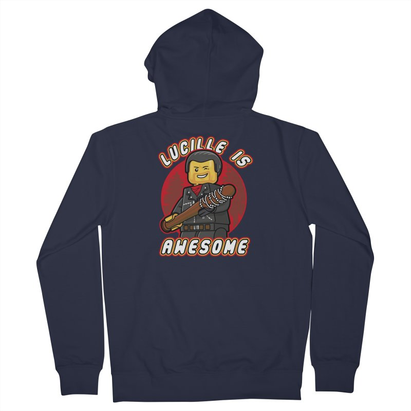 Lucille is Awesome Women's French Terry Zip-Up Hoody by Olipop Art & Design Shop