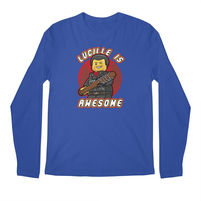 Lucille is Awesome Men's Regular Longsleeve T-Shirt by Olipop Art & Design Shop