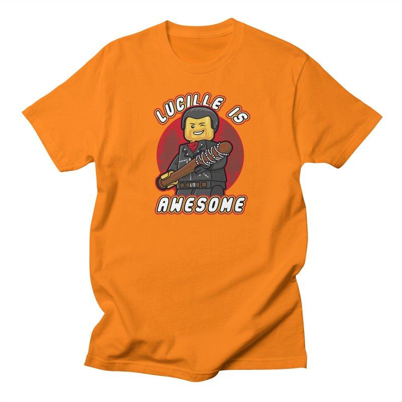 Lucille is Awesome Men's Regular T-Shirt by Olipop Art & Design Shop