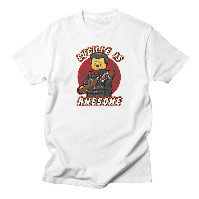 Lucille is Awesome Women's Regular Unisex T-Shirt by Olipop Art & Design Shop