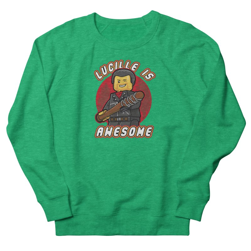 Lucille is Awesome Women's French Terry Sweatshirt by Olipop Art & Design Shop
