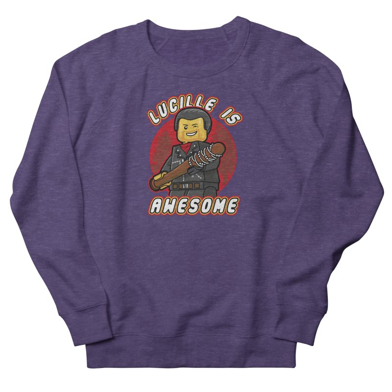 Lucille is Awesome Men's French Terry Sweatshirt by Olipop Art & Design Shop