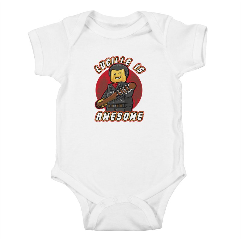 Lucille is Awesome Kids Baby Bodysuit by Olipop Art & Design Shop