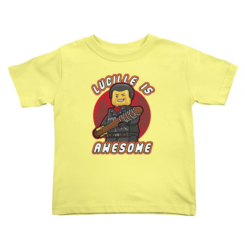 Lucille is Awesome Kids Toddler T-Shirt by Olipop Art & Design Shop
