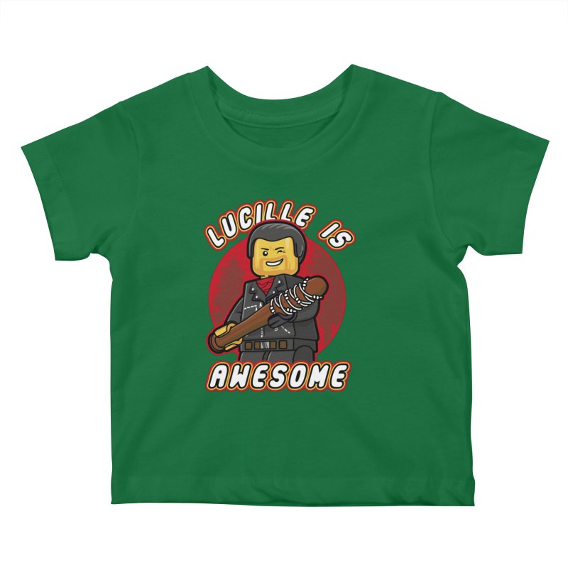 Lucille is Awesome Kids Baby T-Shirt by Olipop Art & Design Shop