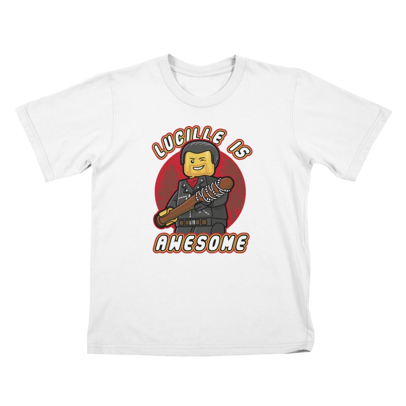 Lucille is Awesome Kids T-Shirt by Olipop Art & Design Shop