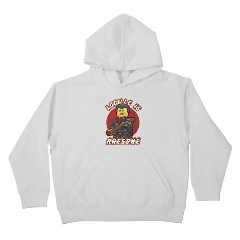 Lucille is Awesome Kids Pullover Hoody by Olipop Art & Design Shop