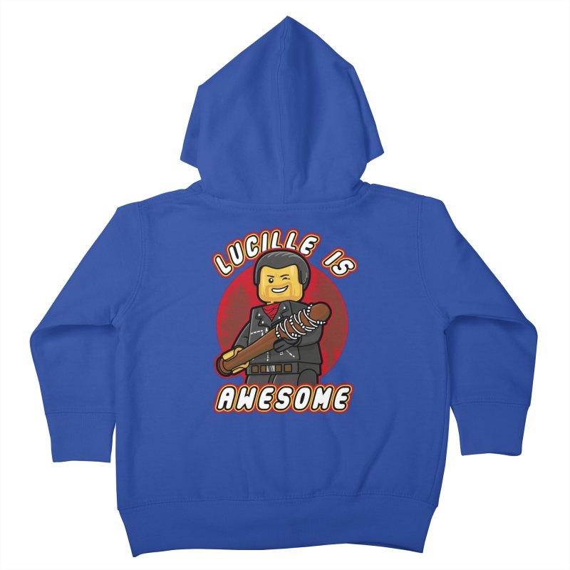Lucille is Awesome Kids Toddler Zip-Up Hoody by Olipop Art & Design Shop