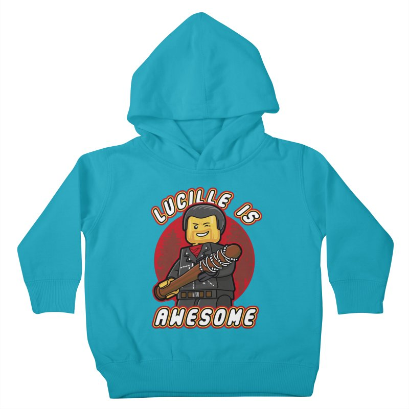 Lucille is Awesome Kids Toddler Pullover Hoody by Olipop Art & Design Shop