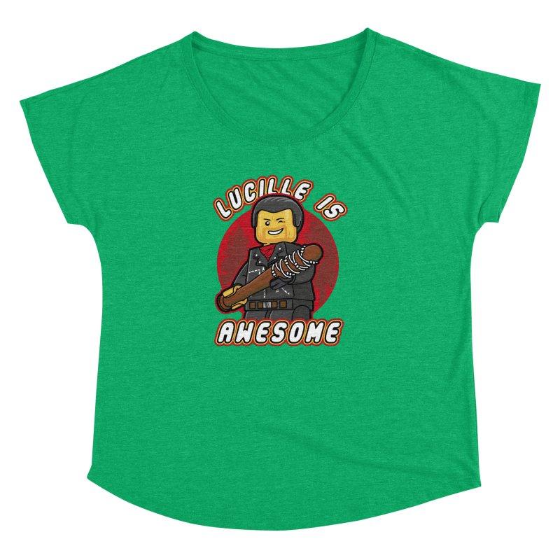 Lucille is Awesome Women's Dolman by Olipop Art & Design Shop