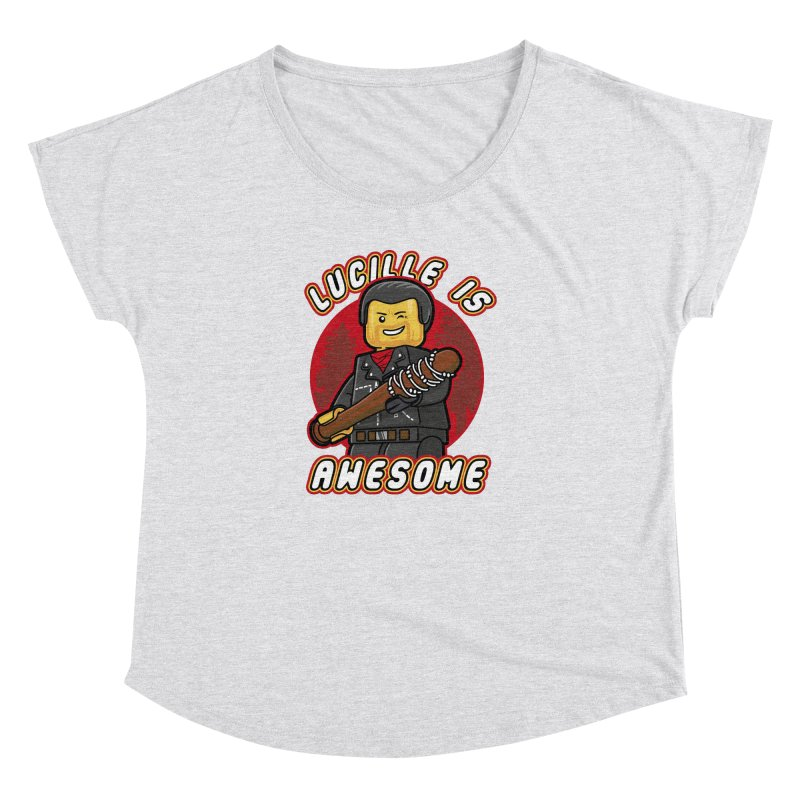 Lucille is Awesome Women's Dolman Scoop Neck by Olipop Art & Design Shop