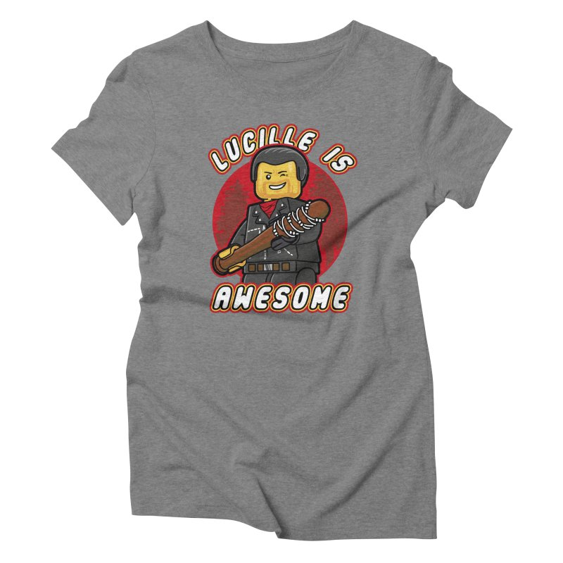 Lucille is Awesome Women's Triblend T-Shirt by Olipop Art & Design Shop