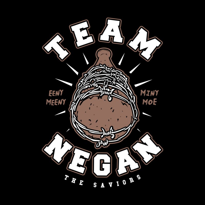 Team Negan Men's V-Neck by Olipop Art & Design Shop
