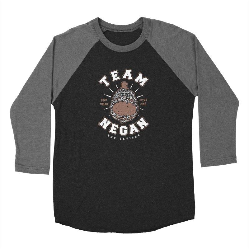 Team Negan Men's Baseball Triblend Longsleeve T-Shirt by Olipop Art & Design Shop