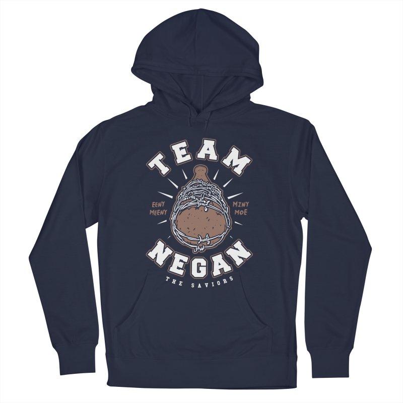 Team Negan Men's French Terry Pullover Hoody by Olipop Art & Design Shop