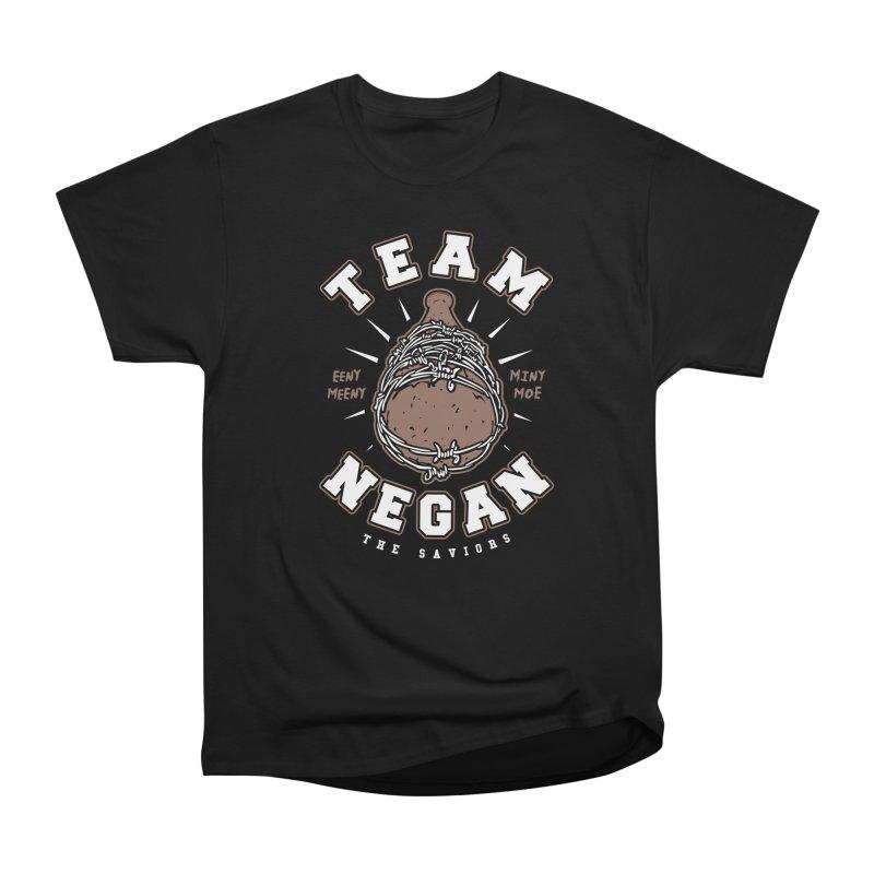 Team Negan Men's Heavyweight T-Shirt by Olipop Art & Design Shop