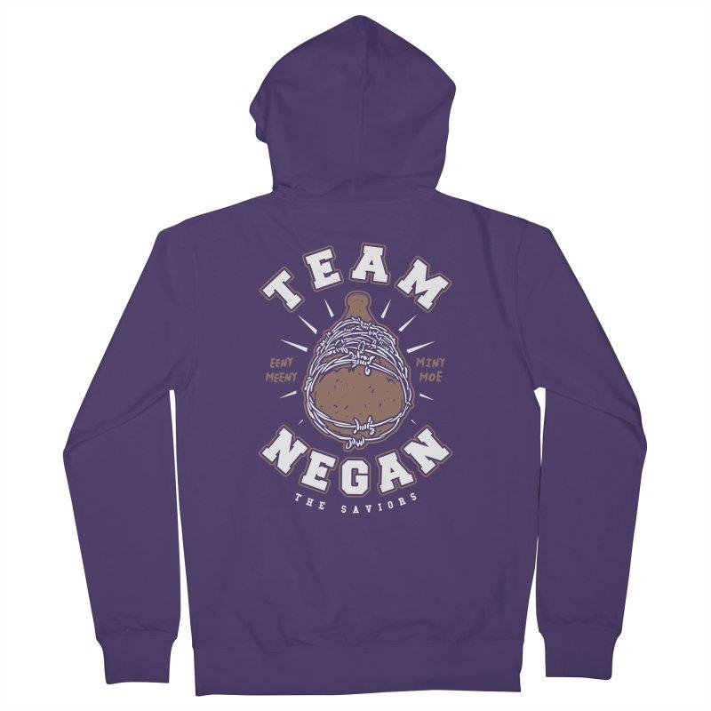 Team Negan Women's Zip-Up Hoody by Olipop Art & Design Shop
