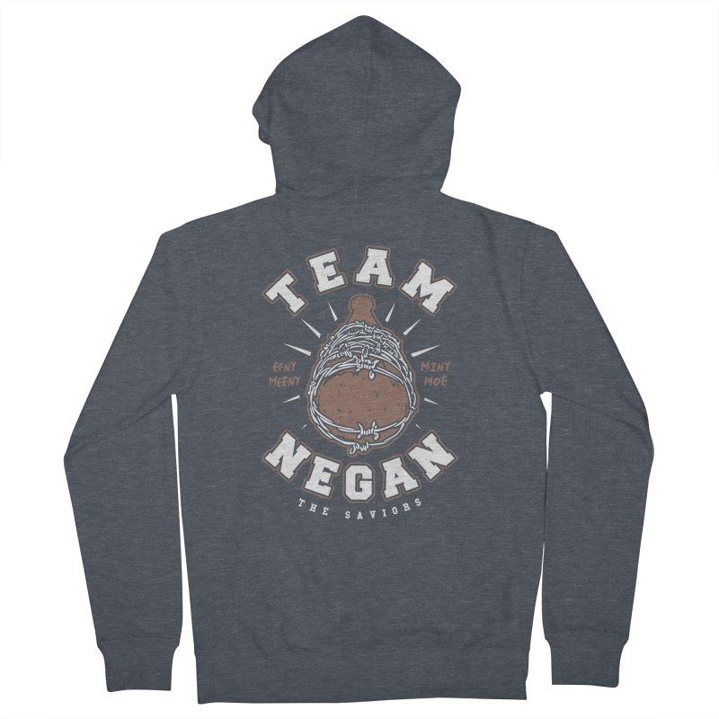 Team Negan Men's Zip-Up Hoody by Olipop Art & Design Shop