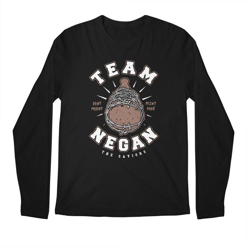 Team Negan Men's Regular Longsleeve T-Shirt by Olipop Art & Design Shop