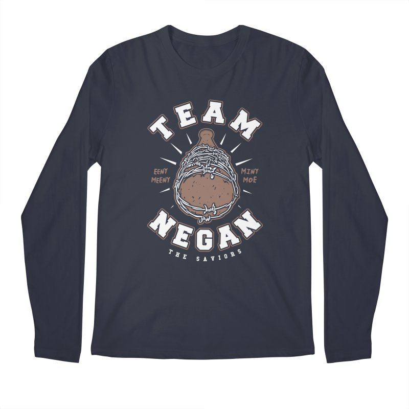 Team Negan Men's Regular Longsleeve T-Shirt by Olipop Art & Design Shop