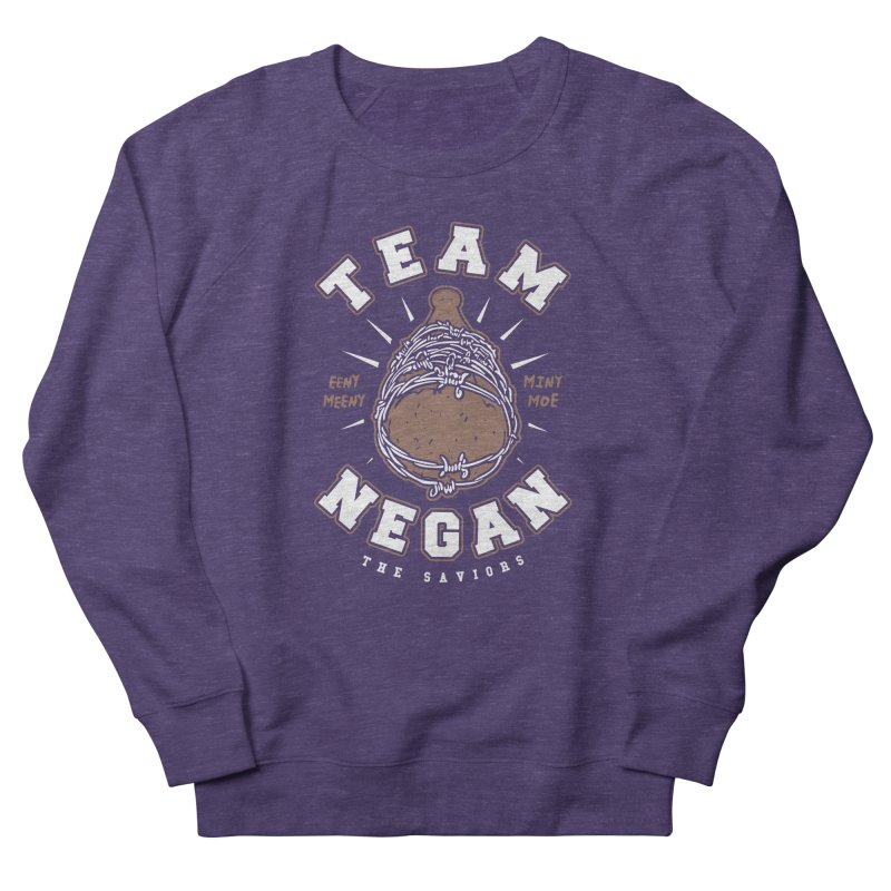 Team Negan Women's French Terry Sweatshirt by Olipop Art & Design Shop