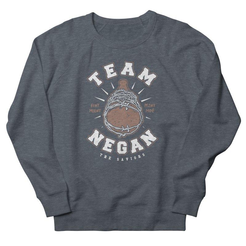 Team Negan Men's French Terry Sweatshirt by Olipop Art & Design Shop