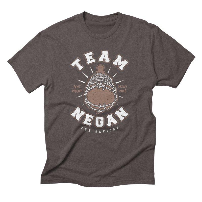 Team Negan Men's Triblend T-Shirt by Olipop Art & Design Shop
