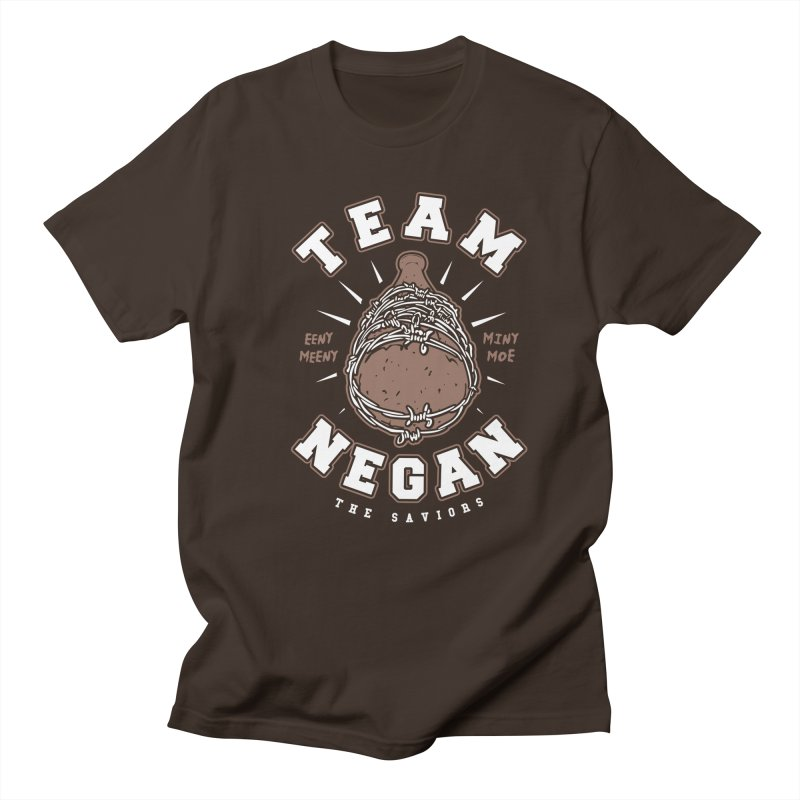 Team Negan Men's Regular T-Shirt by Olipop Art & Design Shop