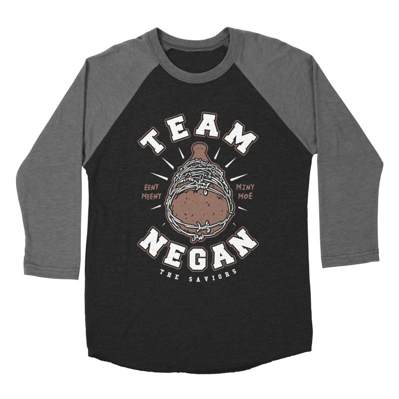 Team Negan Men's Baseball Triblend T-Shirt by Olipop Art & Design Shop