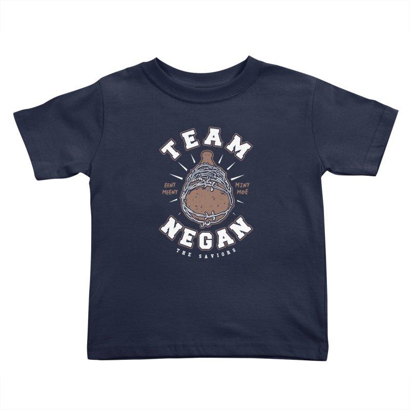 Team Negan Kids Toddler T-Shirt by Olipop Art & Design Shop