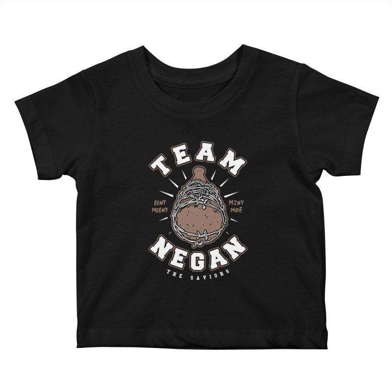 Team Negan Kids Baby T-Shirt by Olipop Art & Design Shop