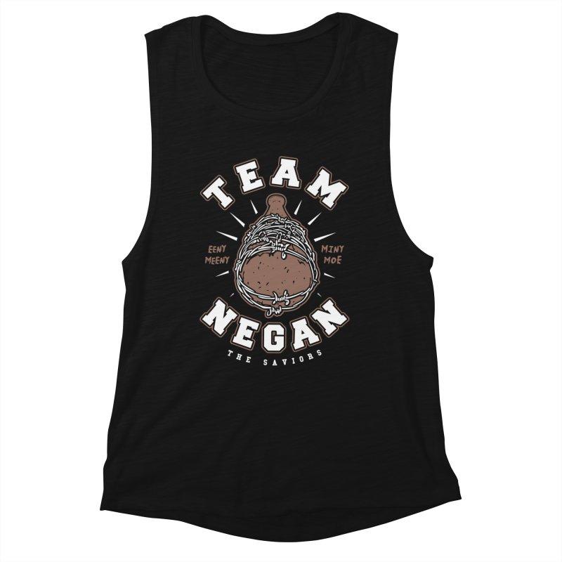 Team Negan Women's Muscle Tank by Olipop Art & Design Shop
