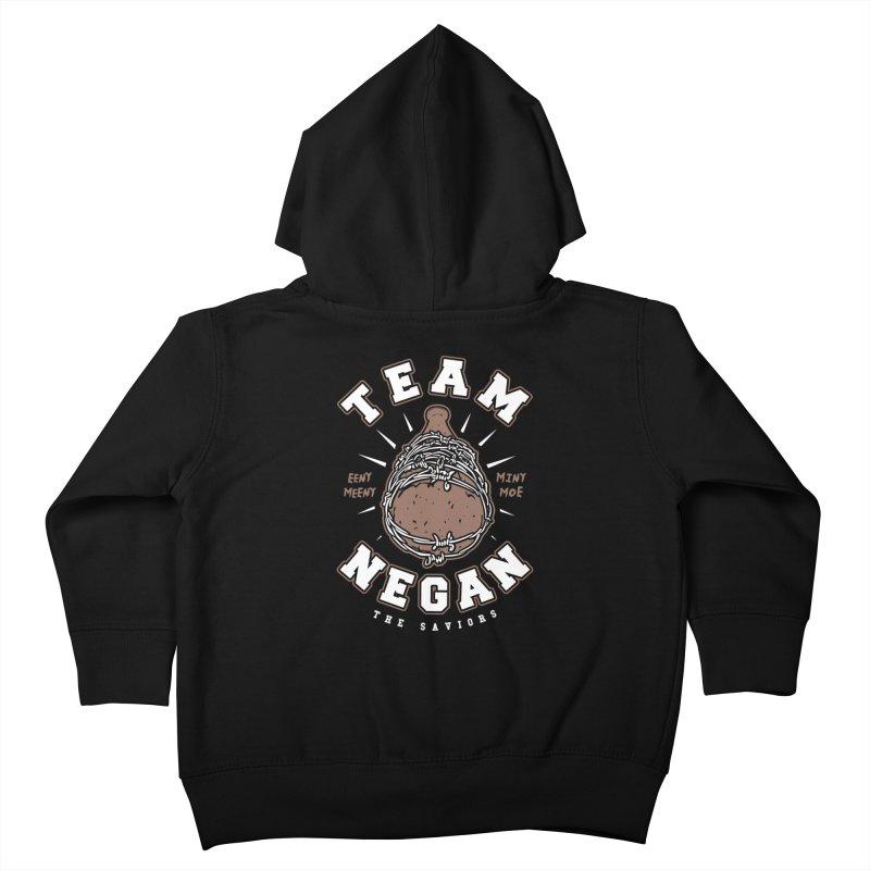 Team Negan Kids Toddler Zip-Up Hoody by Olipop Art & Design Shop