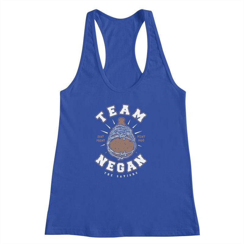 Team Negan Women's Racerback Tank by Olipop Art & Design Shop