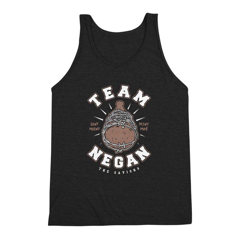 Team Negan Men's Triblend Tank by Olipop Art & Design Shop