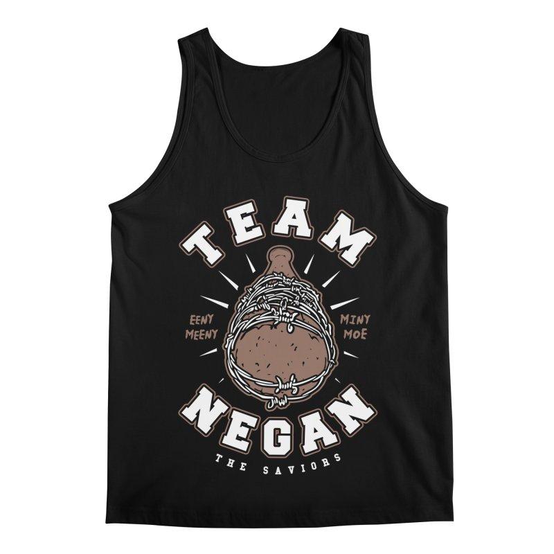 Team Negan Men's Regular Tank by Olipop Art & Design Shop