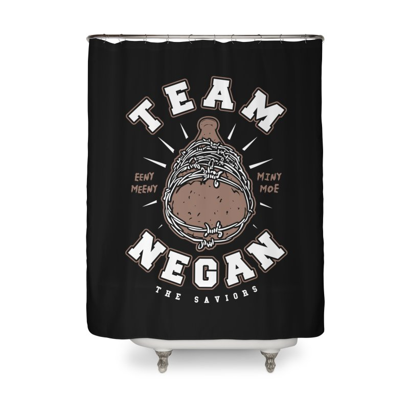 Team Negan Home Shower Curtain by Olipop Art & Design Shop