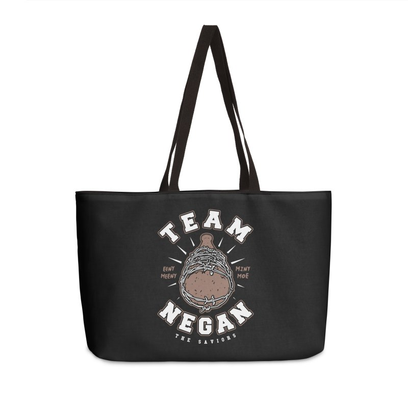 Team Negan Accessories Weekender Bag Bag by Olipop Art & Design Shop