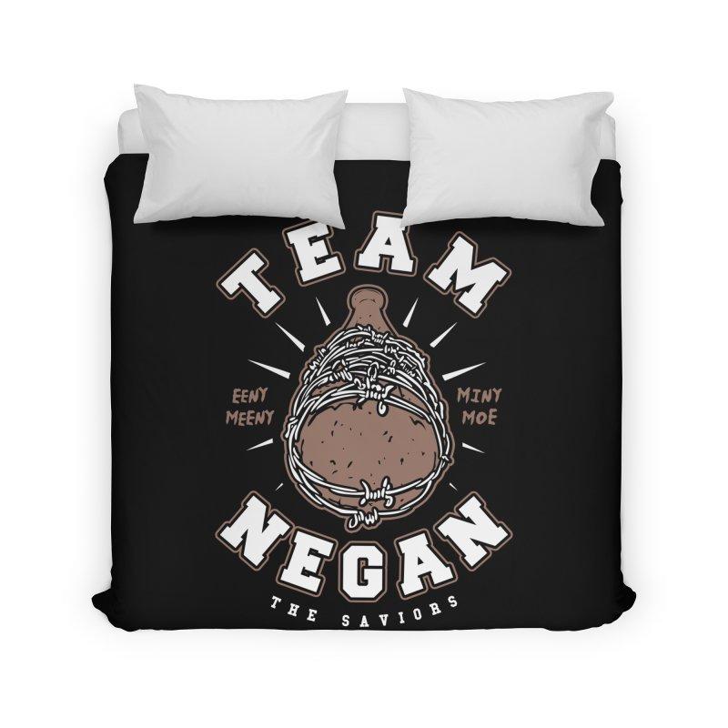 Team Negan Home Duvet by Olipop Art & Design Shop