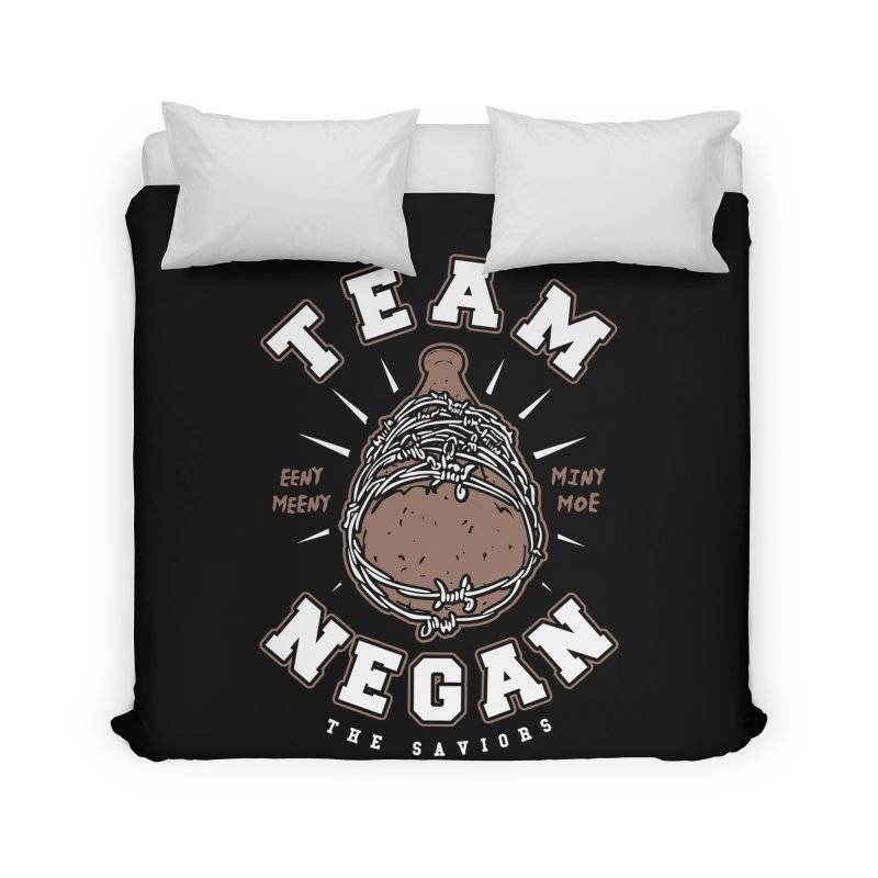 Team Negan Home Duvet by Olipop Art & Design Shop