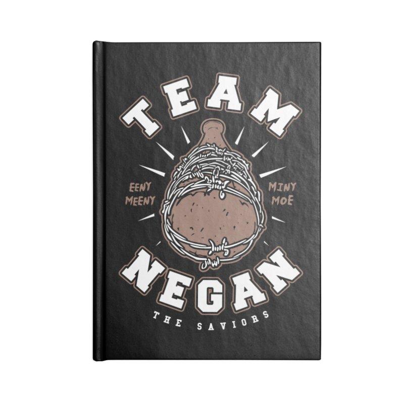 Team Negan Accessories Blank Journal Notebook by Olipop Art & Design Shop