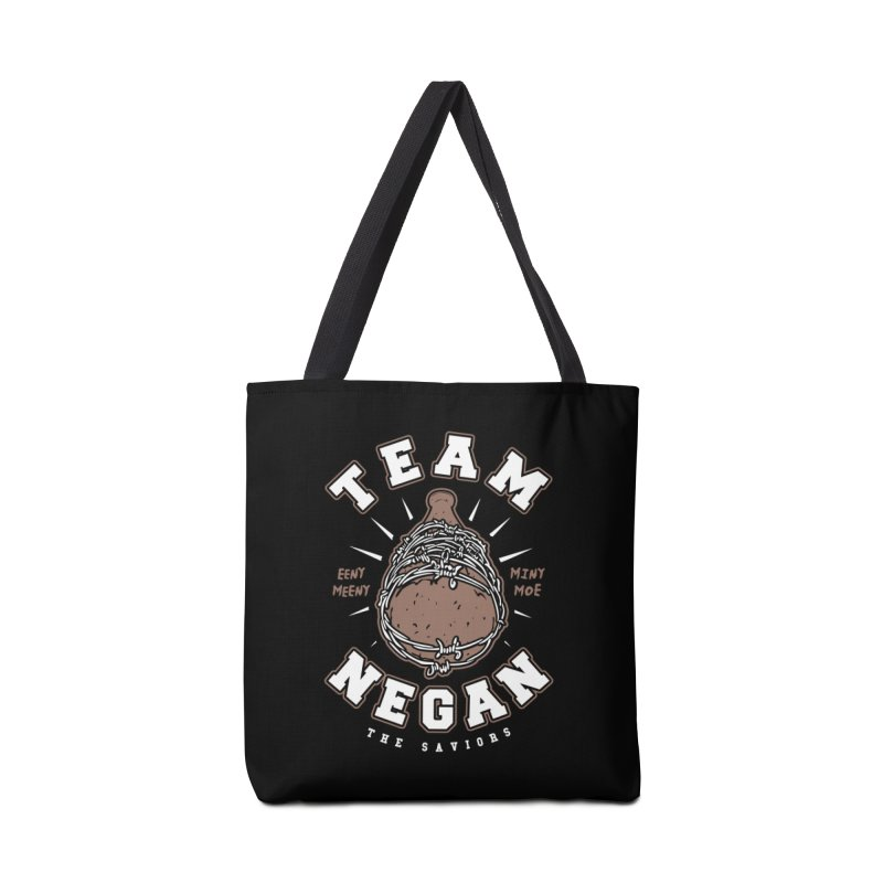 Team Negan Accessories Tote Bag Bag by Olipop Art & Design Shop