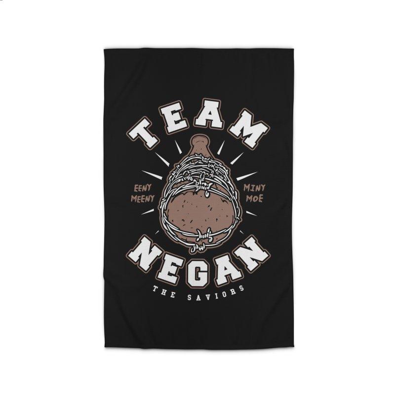 Team Negan Home Rug by Olipop Art & Design Shop