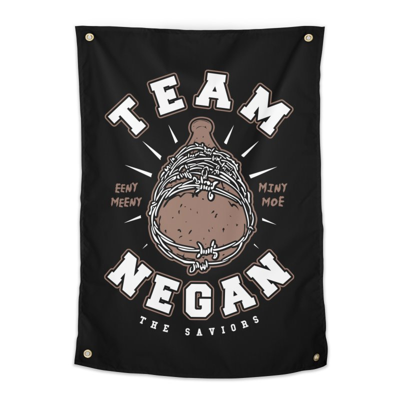Team Negan Home Tapestry by Olipop Art & Design Shop
